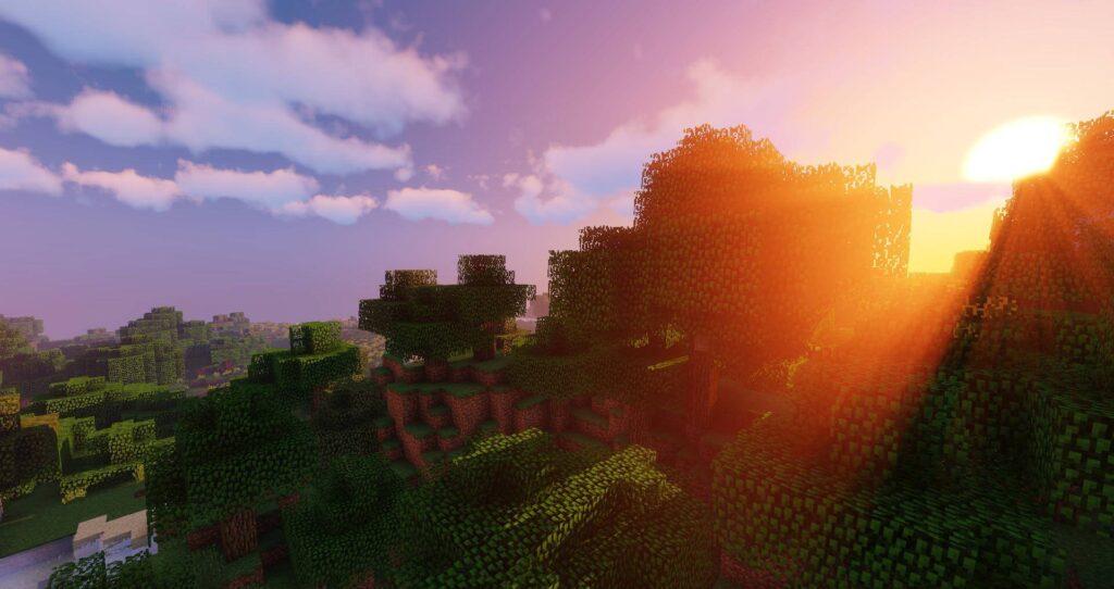 Minecraft Sildurs Shaders low end pc