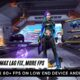 free fire lag fix more fps